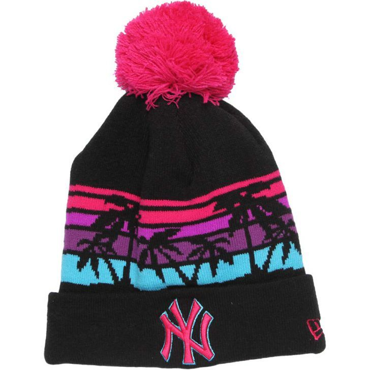 bf3cc95037b16 Gorro New Era Winter Tide Vice New York Yankees MLB - Preto