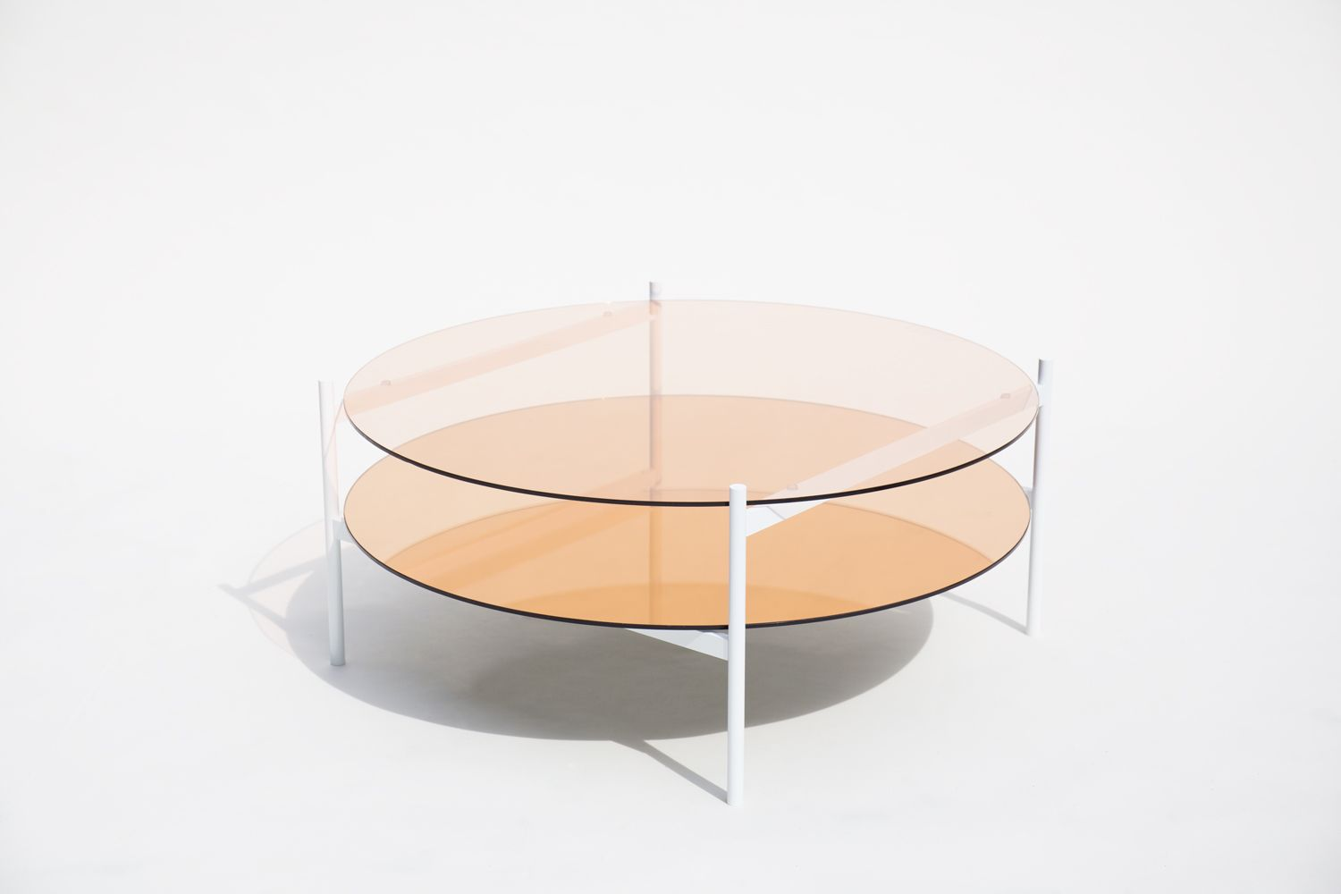 Yield Lives At The Intersection Of Functionality And Elegance Of High End Design And Accessibility Coffee Table White Round Coffee Table Circular Coffee Table [ 1000 x 1500 Pixel ]