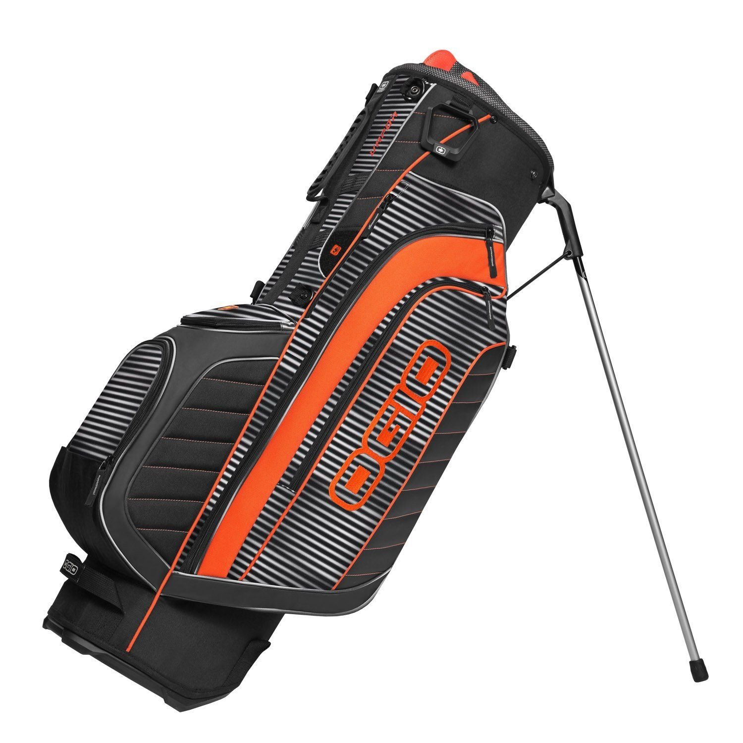 Offering Full Length Dividers These Mens Vapor Golf Club Stand Carry Bags By Ogio Also Feature A Walking Accessible Insulated Water Bottle Holster