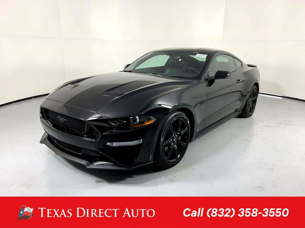 2018 Ford Mustang Gt Premium Texas Direct Auto 2018 Gt Premium