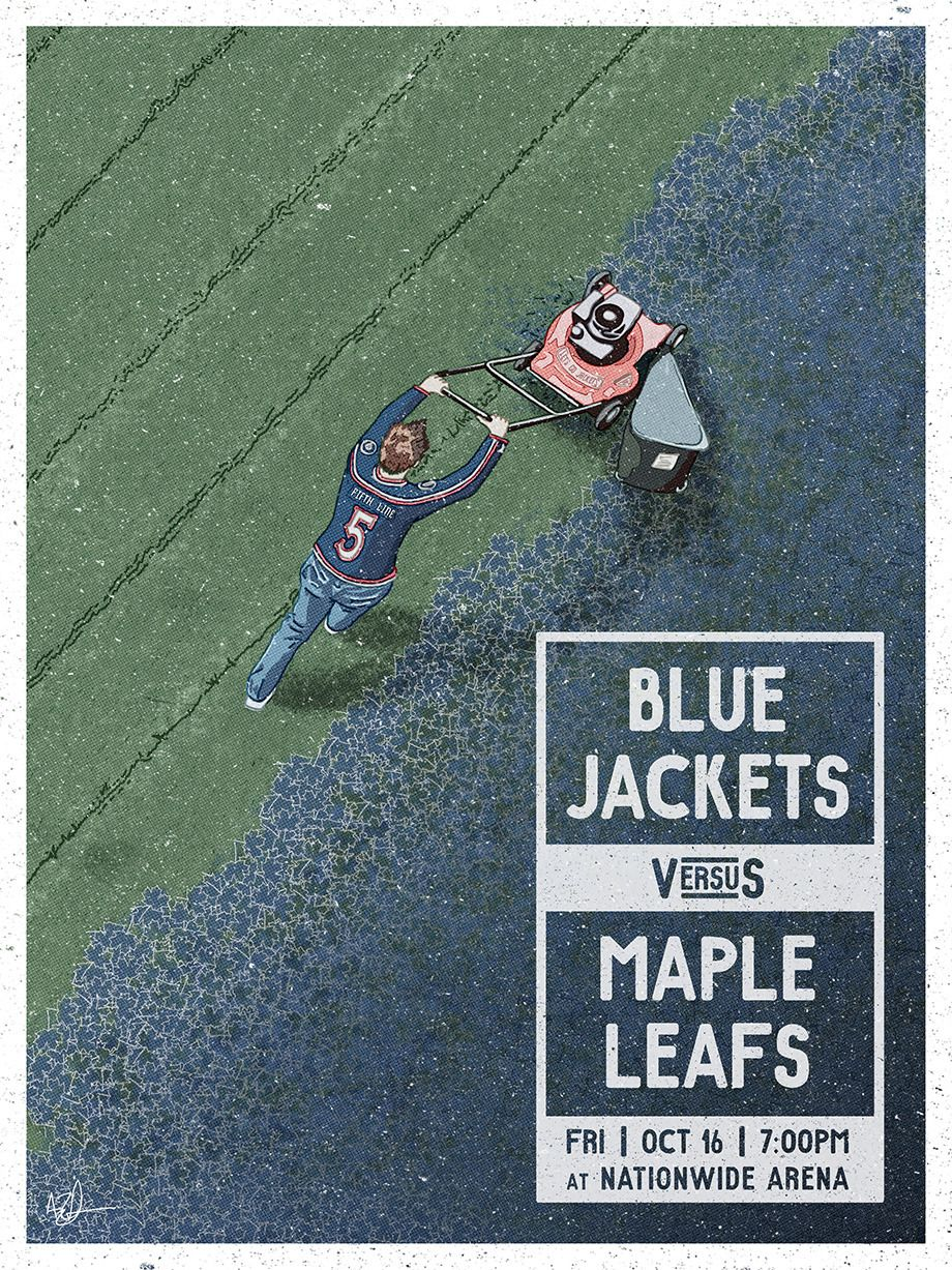Columbus Blue Jackets - Vote for your Favorite Game Day Poster ...