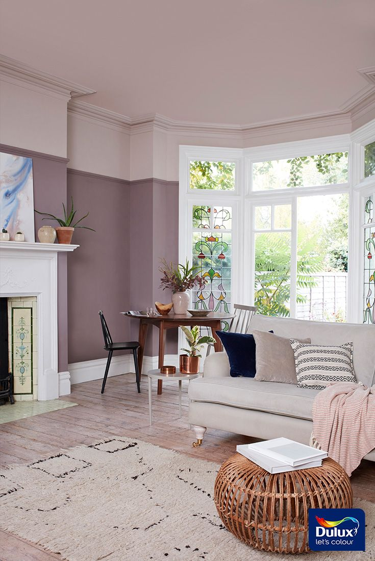 Create A Cosy Sanctuary In Your Living Room With Warm Nature Inspired Heart Wood Dulux Colou Warm Living Room Colors Living Room Wall Color Living Room Warm