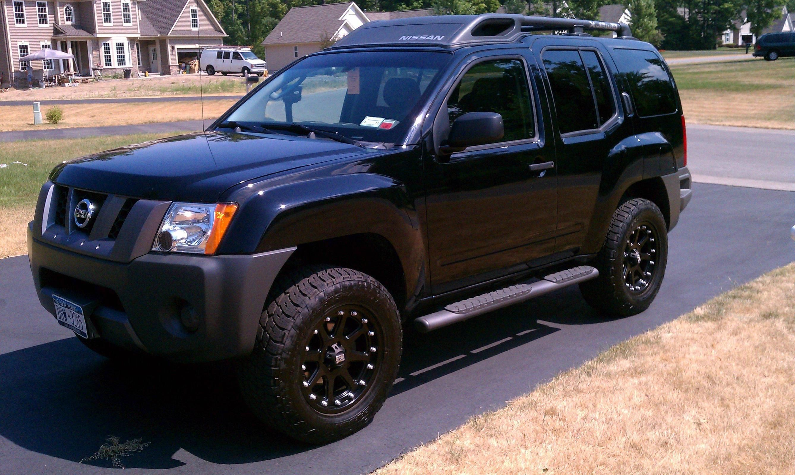 Back in black post a pic of your black x page 19 second generation nissan xterra forums