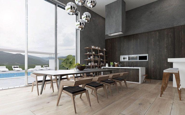 Oltre 100 Idee per Arredare una Sala da Pranzo Moderna ...