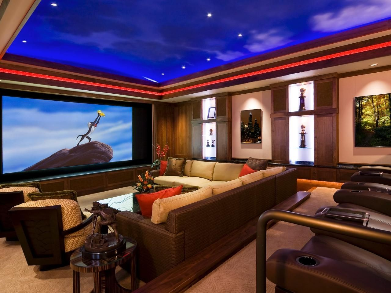home theater room design. Home Theatre Room Design Decoration Theater H