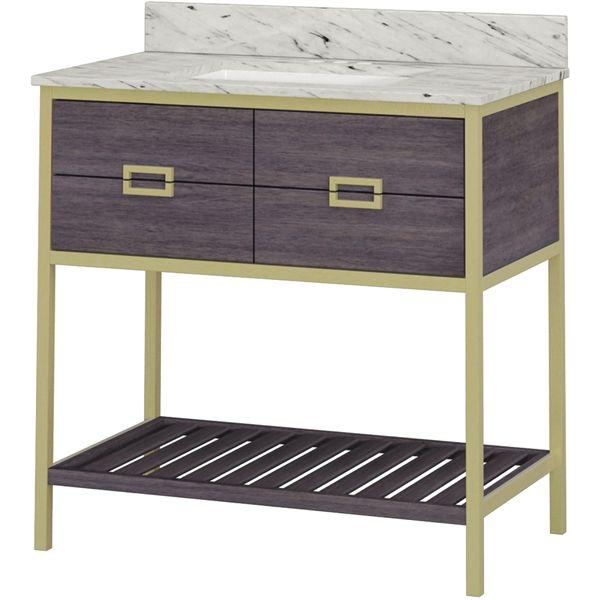 Shop Whalen Goldie 36-in x 20-in Undermount Single Sink Birch