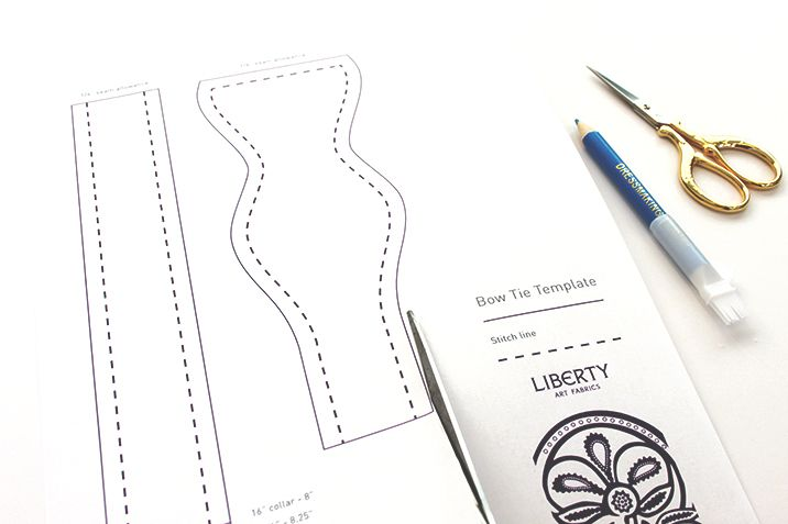 Step 2 v2 | Sewing Projects | Pinterest | Bowtie pattern, Liberty ...
