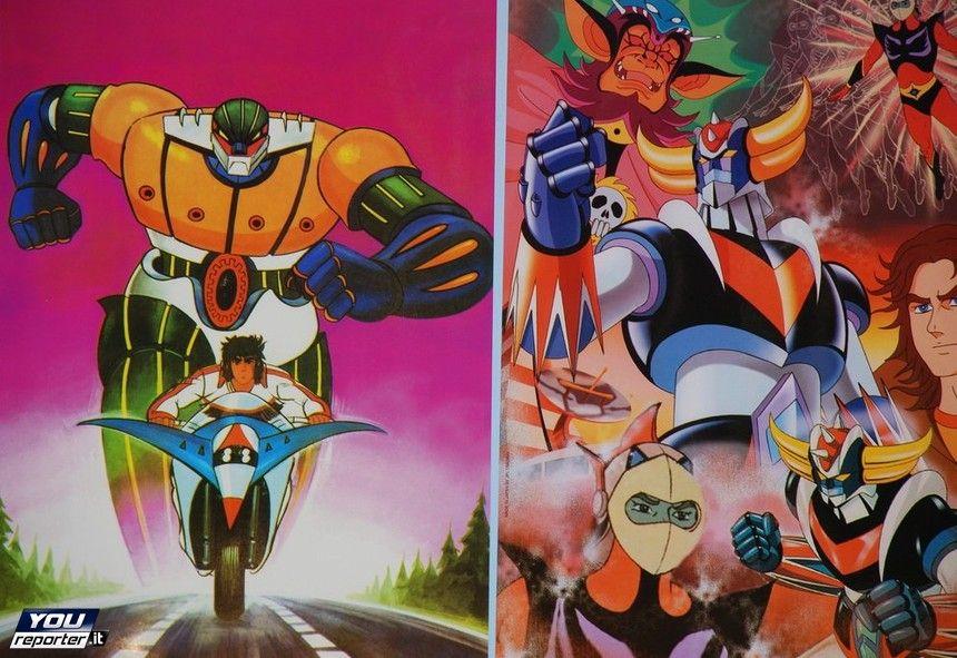 Jeeg robot dacciaio goldrake anni 80 cartoni animati e robot