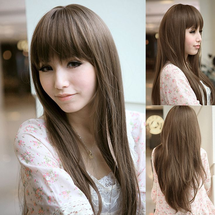 Asian Ash Brown Hair Looking For Hair Extensions To Refresh Your
