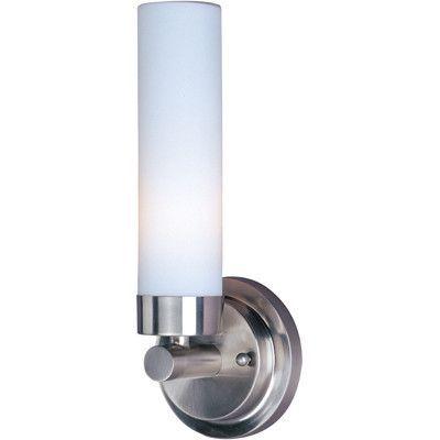 ET2 Lighting Cilandro 1-Light CFL Wall Mount E63006-11 - Satin Nickel