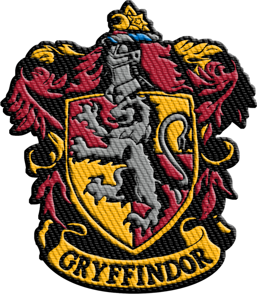 Harry Potter Gryffindor IronOn Patch Harry potter patch
