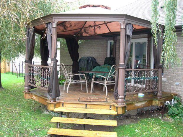 How To Build An Octagonal Deck Building A Deck Outdoor Living Deck Deck Building Cost