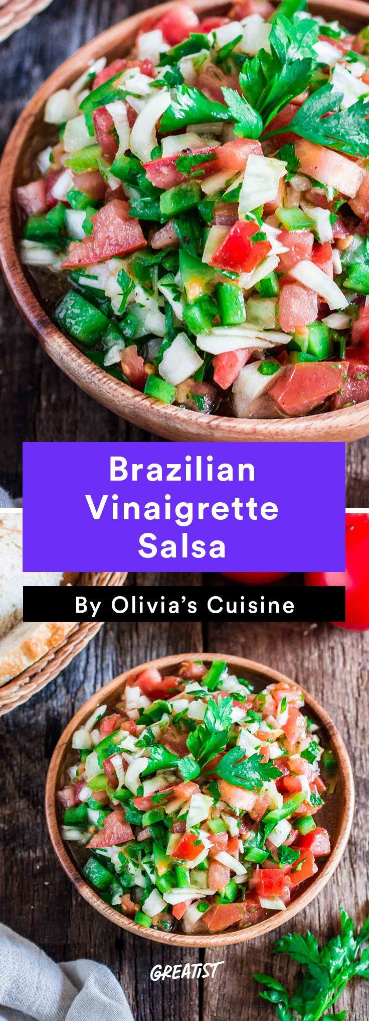 7 Gold MedalWorthy Brazilian Dishes Were Making Before the Olympics End  4 Brazilian Vinaigrette Salsa