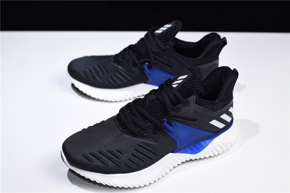 new arrival 5780d 51ea9 adidas Alphabounce Beyond 2 M BlackRoyal Blue-White BD7082