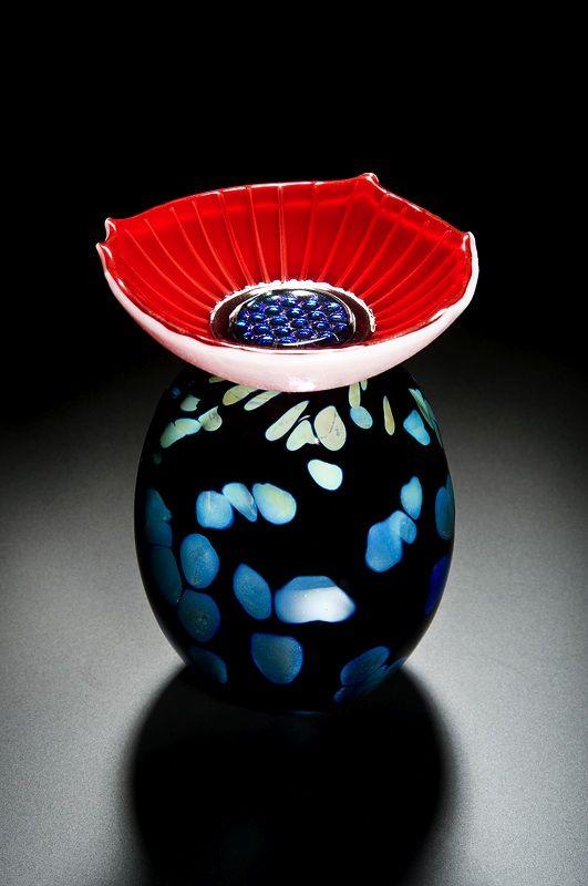 Cathryn Shilling - Black Irridised Seed Pod