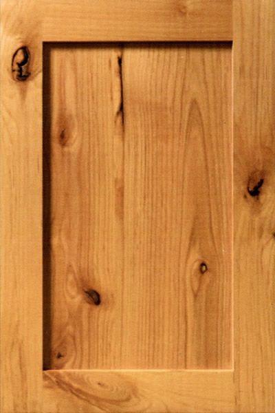 Rustic Adler Wood Cabinet Doors