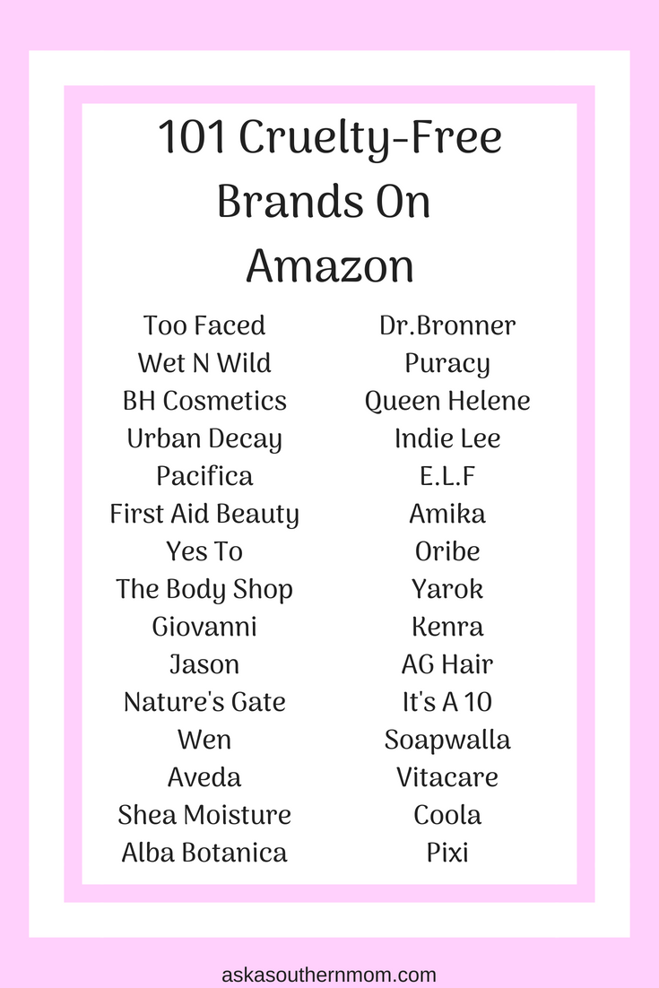 So many brands you can find on Amazon! Such an easy way to