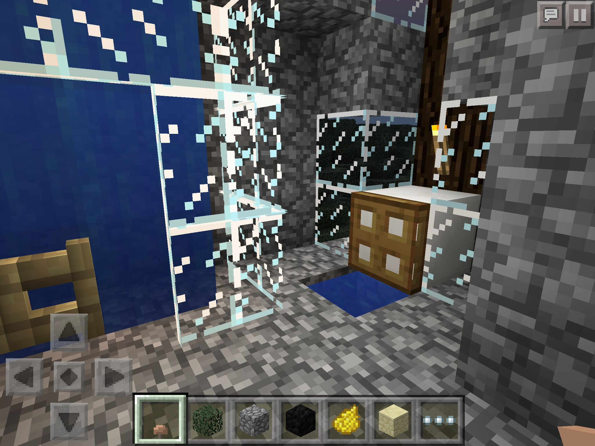 Minecraft PE Forest House Bathroom
