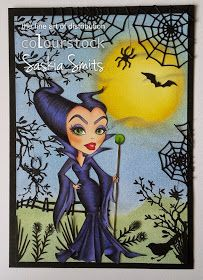 Stock color: Maleficent