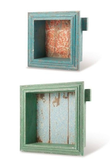Shadow Boxes Square - Set of 2 by Foreside Home & Garden on @HauteLook