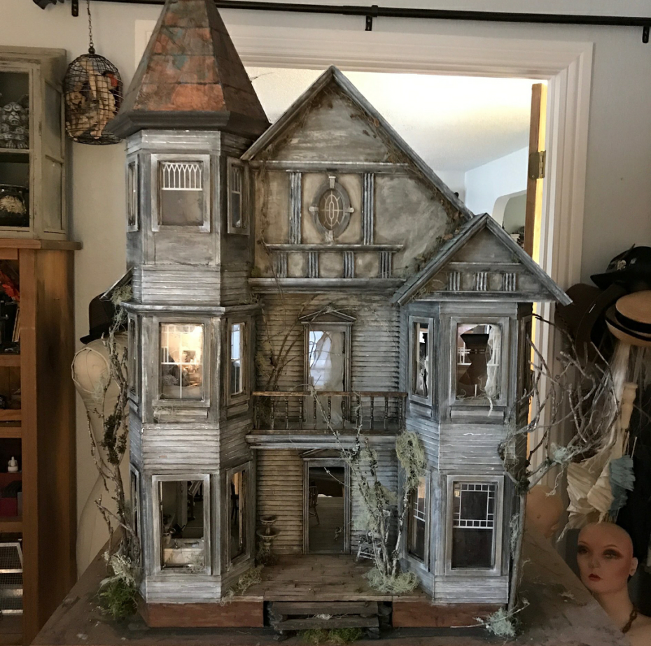 And Now, Abandoned Dollhouses for your Inner Demon Child