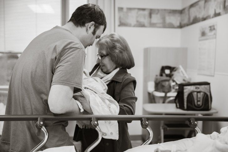 Pin for Later: Take a Photographic Journey Through One Woman's C-Section Birth  Source: Zemya Photography