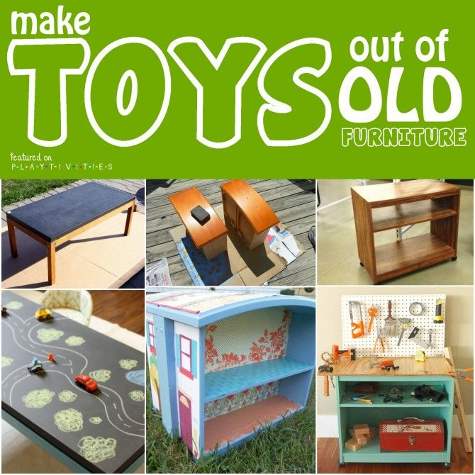 Repurposing Old Furniture Kid Friendly Ideas Cool Ideas