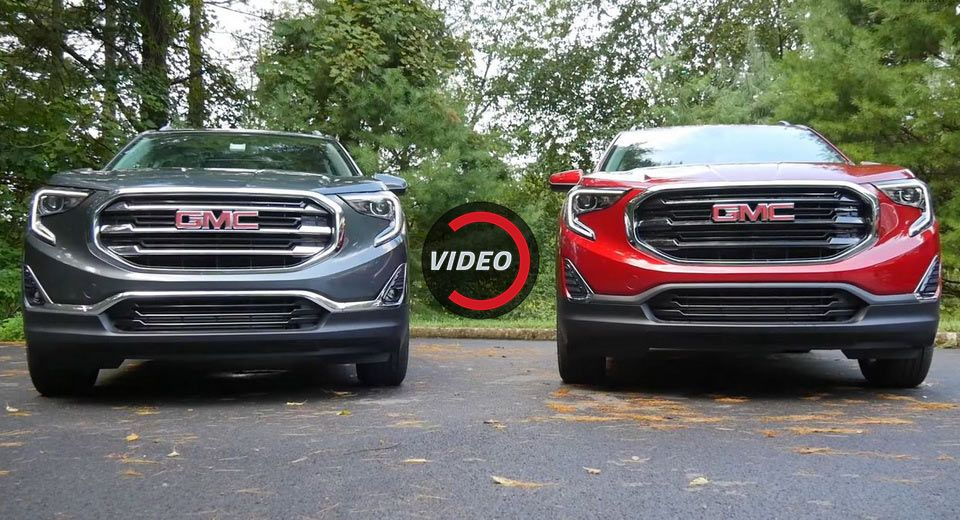 2018 Gmc Terrain Petrol Vs Diesel Which Would You Rather Have