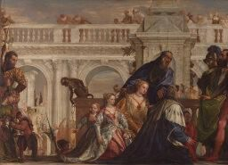 Paolo Veronese | The Family of Darius before Alexander | NG294 | National Gallery, London
