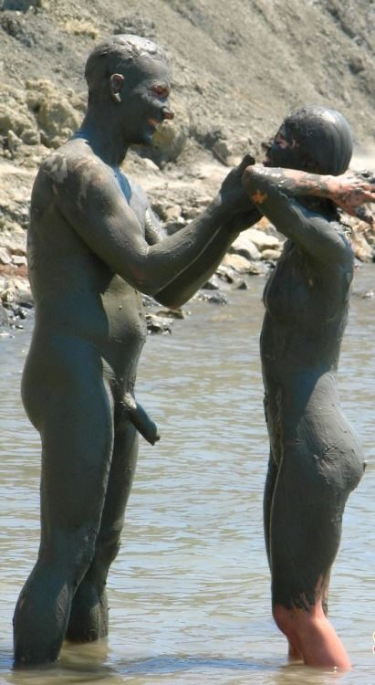 Playing in the mud~ Love it!