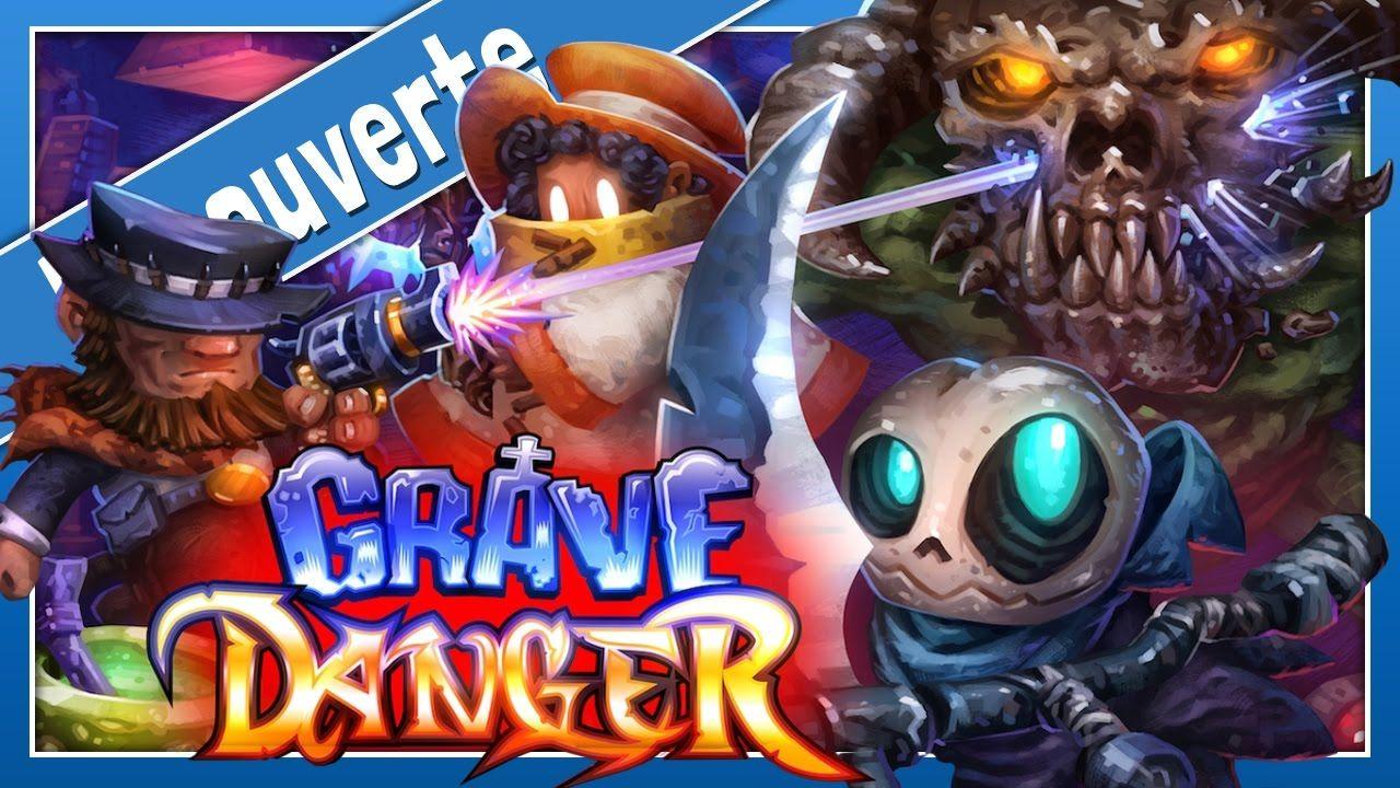 GRAVE DANGER Un puzzleplateformer à trois héros hors