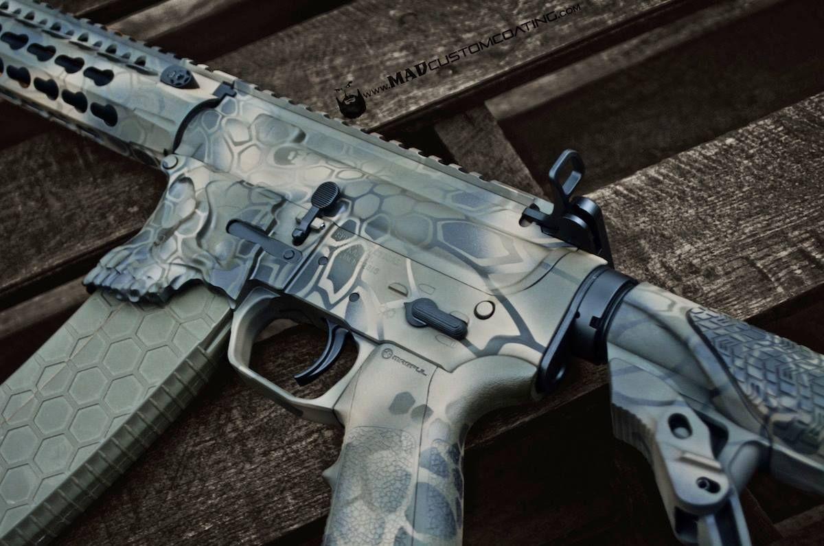 Mad Custom Coating Custom Guns Custom Real Steel