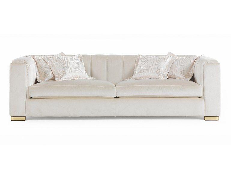 Zanaboni Salotti Classici.3 Seater Fabric Sofa Magritte By Zanaboni Salotti Classici