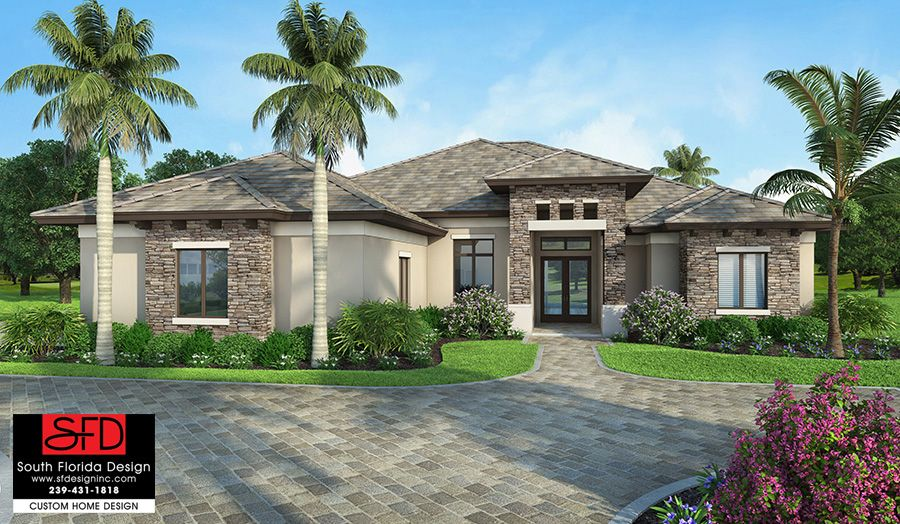 Barrington G1 2586 S Florida House Plans Mediterranean Homes Mediterranean Style House Plans