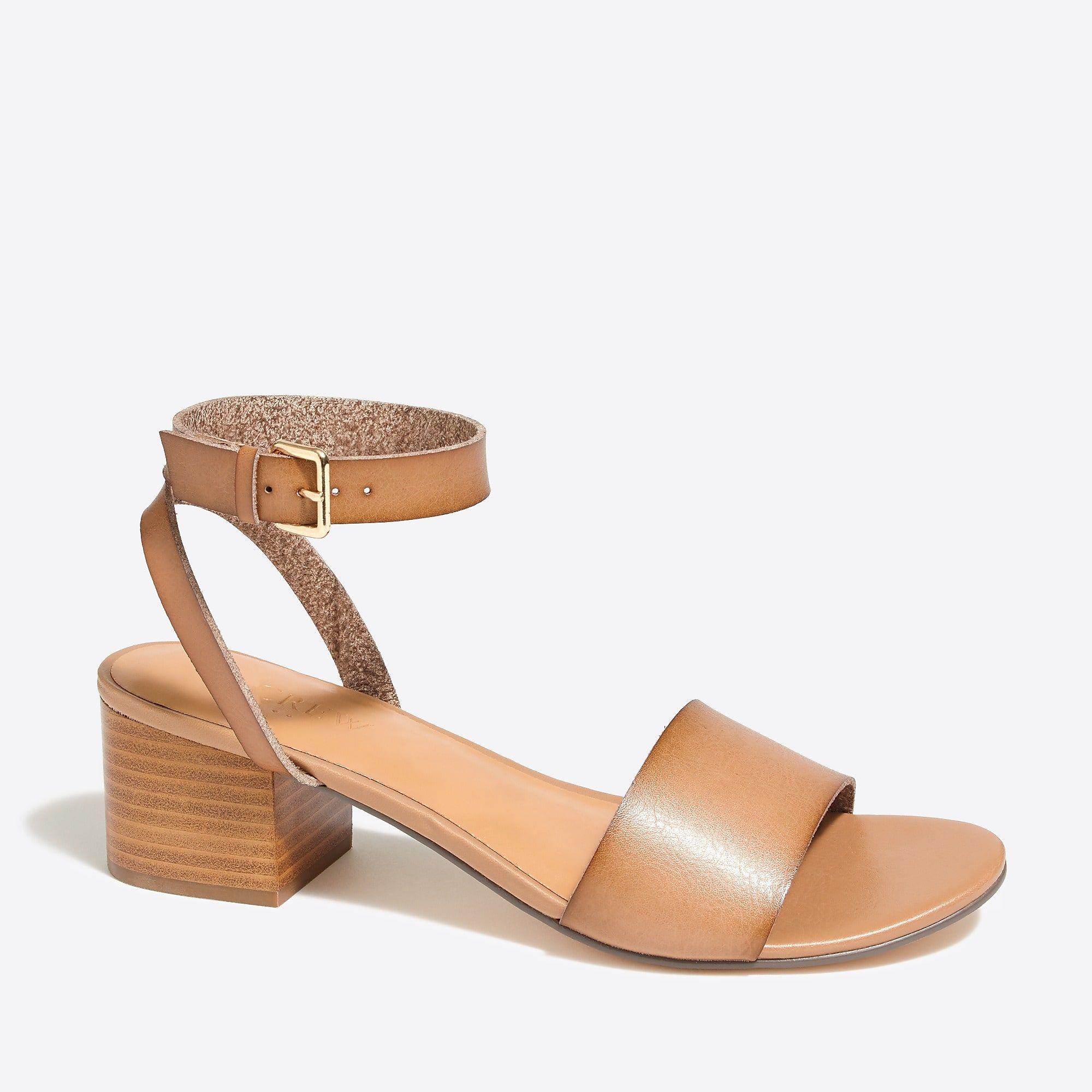 ee0683b7ad961 Block-heel sandals   FactoryWomen Heels