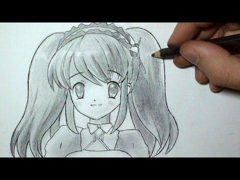 Comment dessiner un visage manga fille tutoriel 3 - Fille manga a dessiner ...
