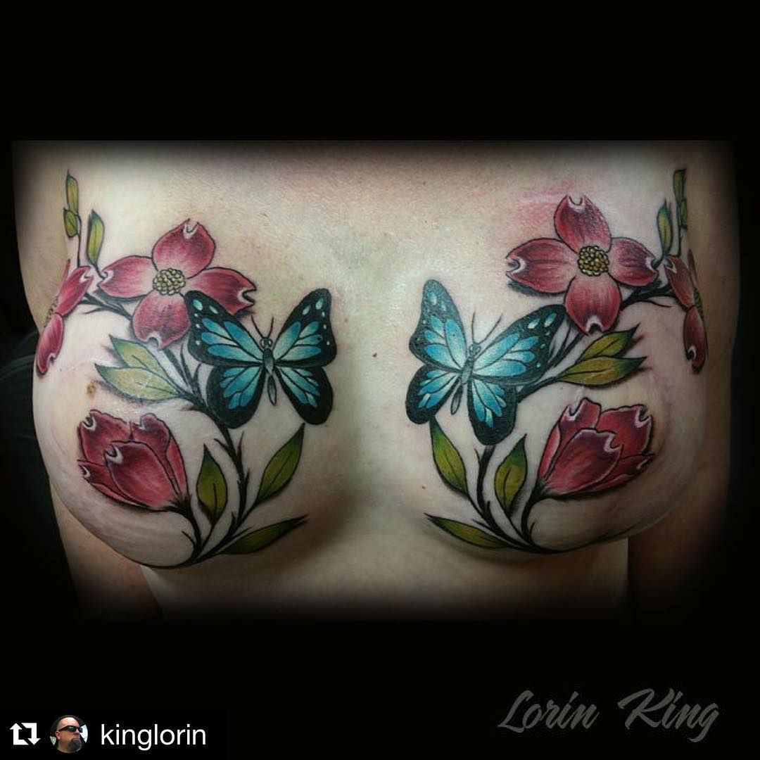 Breast Cancer Survivor Has Hummingbird Tattoo To Cover: 23 Beautiful Mastectomy Tattoos That Are So Much More Than
