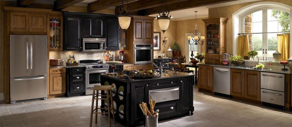 Inspiração de cozinha - Kitchen inspiration - Kitchen Idea.