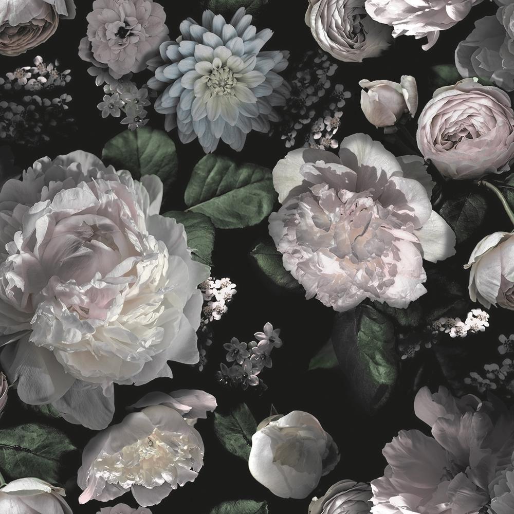 Tempaper Moody Floral Peel and Stick Wallpaper 60 sq. ft