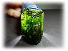 63.10ct Chrome Green Tourmaline Rough Crystal get it on...