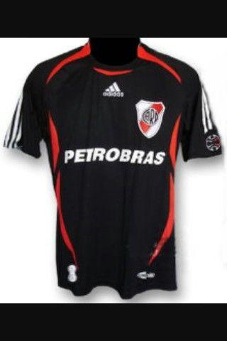 River Plate - camiseta suplente  de688facaa42f
