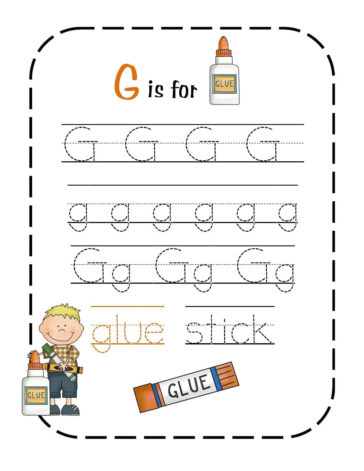G Is For Glue 1 236 1 600 Pixels