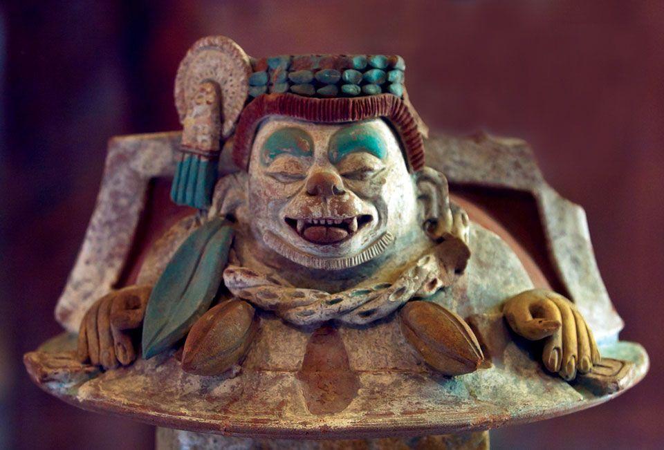 maya cacao god ek chuah photo by thor janson