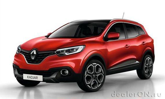 Kompaktnyj Krossover Renault Kajar 2015 Reno Kadzhar 2015 New