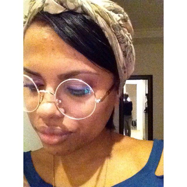 #Pretaah #Jesus #Lenço #Óculos #Eyes