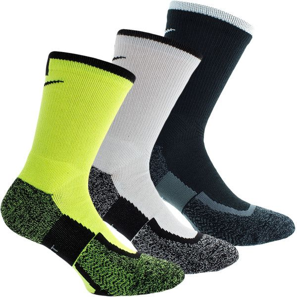 The Nike Elite Crew Tennis Socks are revolutionary socks. These performance  socks are strategically cushioned