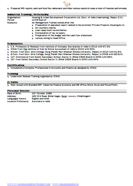 Resume Company Free Resume Format Download Page 2  Career  Pinterest  Free .
