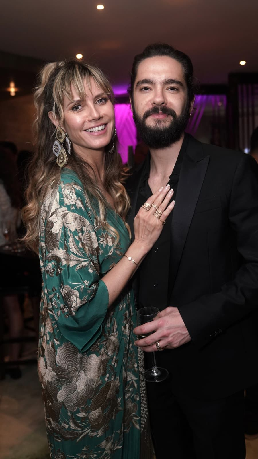 Heidi Klum And Tom Kaulitz Got Engaged At The End Of 2018 And Are Currently In The Middle Of Planning Their Weddin Heidi Klum Heidi Klum S Children Tom Kaulitz
