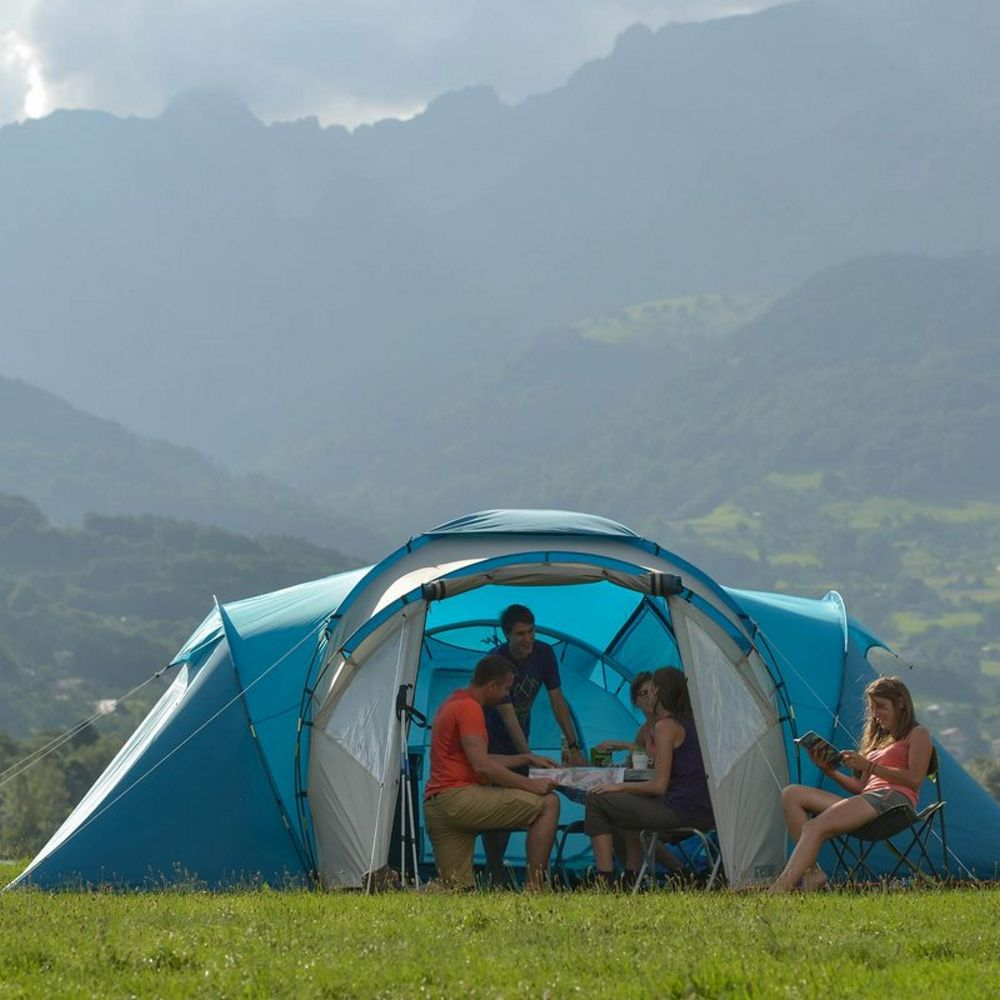 Buy-Hiking-Tents-Online-In-India|T 63 Family Tent & Buy-Hiking-Tents-Online-In-India|T 63 Family Tent|Quechua ...