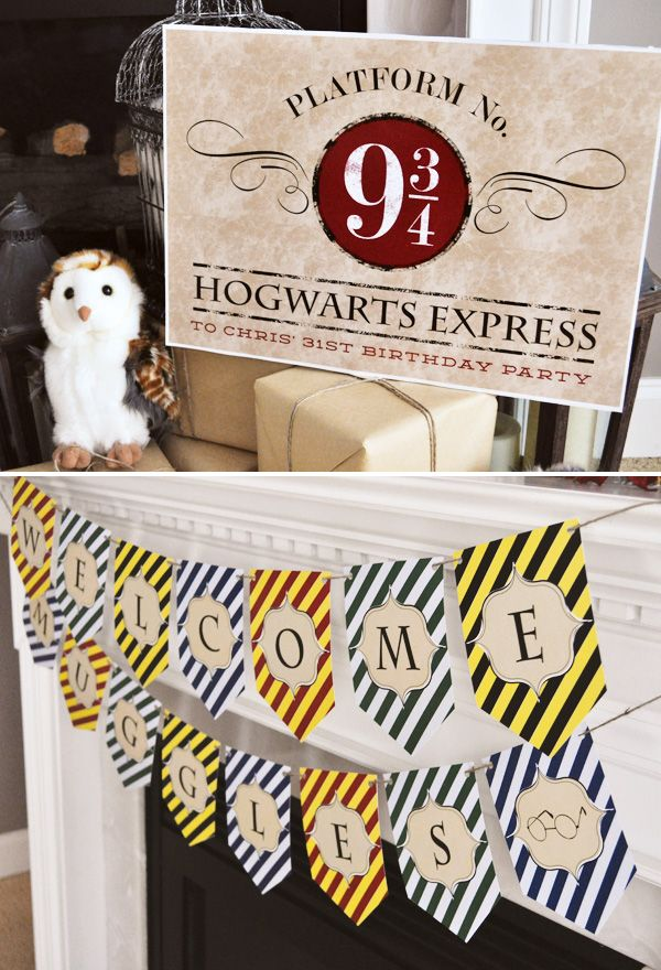 A Magical Harry Potter Birthday Party Harry potter birthday, Harry